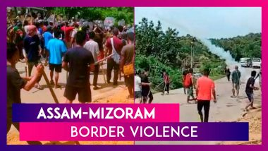 Assam-Mizoram Border Violence: 5 Police Personnel Dead, 60 Injured As Clashes Intensify