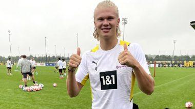 Erling Haaland Joins Borussia Dortmund For Pre-Season Amid Transfer Rumours