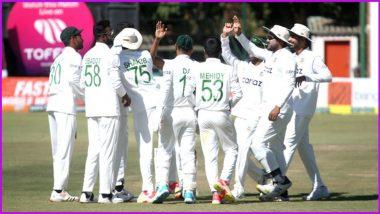 Bangladesh Beat Zimbabwe by 220 Runs in One-Off Test, Mehidy Hasan Scalps Nine-Wicket Haul