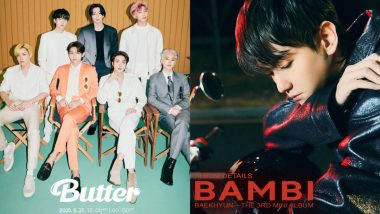 Best K-Pop Songs of 2021: From BTS' Butter to Bambi by Baekhyun, These Tracks Created Big Buzz This Year So Far