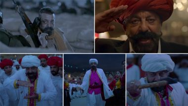Bhai Bhai Song From Bhuj – The Pride of India: Sanjay Dutt Nails the Gujju Vibe in This Mika Singh Sung Track (Watch Video)
