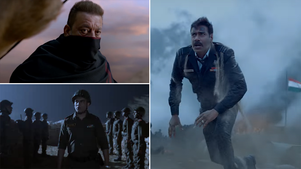 Bhuj: The Pride of India Teaser Out! Ajay Devgn, Sanjay Dutt, Sonakshi Sinha-Starrer Packs a Patriotic Punch (Watch Video)   🎥 LatestLY