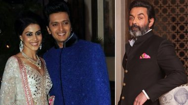 Indian Pro Music League: Bobby Deol, Riteish and Genelia Deshmukh to Perform on Zee TV's Music Reality Show