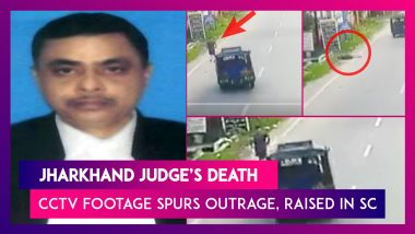 Jharkhand Judge's Death: CCTV Footage Spurs Outrage, Raised In Supreme Court