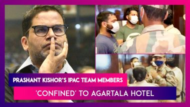 Prashant Kishor's IPAC Team Members Being 'Confined' To Agartala Hotel