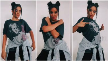 Camila Cabello Nails Don't Go Yet TikTok Dance Challenge Effortlessly and You Have To Try It RN (Watch Video)