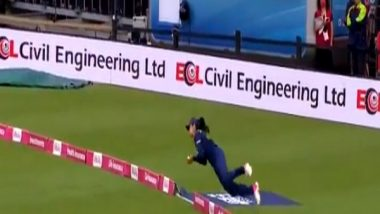 Sachin Tendulkar Terms Harleen Deol's Catch in T20I Against England as 'Catch of the Year'