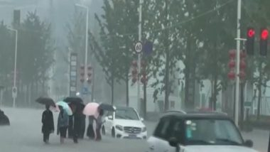 World News | Deadly Floods Sweep Central China, Xi Describes Situation as 'very Severe'