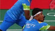 Satwicksairaj Rankireddy and Chirag Shetty at Tokyo Olympics 2020, Badminton Live Streaming Online: Know TV Channel & Telecast Details for Men's Doubles Group Play Stage Coverage