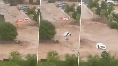 Pakistan Floods: Cloudburst in Islamabad Causes Flooding; Videos of Cars Floating in Water Surface on Internet