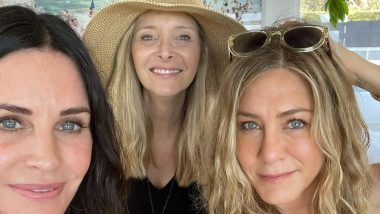 Friends Stars Jennifer Aniston, Courteney Cox and Lisa Kudrow Reunite on US Independence Day