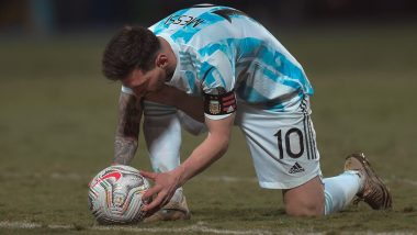 Copa America 2021: Three Records Created by Lionel Messi in the South American Championships This Year