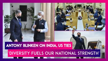 Antony Blinken Press Meet: Diversity Fuels Our National Strength, Says US Secretary Of State On India, US Ties