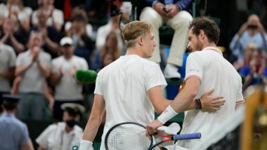 Wimbledon 2021: Andy Murray Dumped Out by Canada's Denis Shapovalov in Third Round