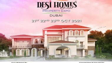 Business News   'Desi Homes - Property Expo 2021', to Be Showcased in Dubai