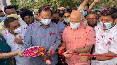 Delhi Deputy CM Manish Sisodia Lays Foundation Stone for School in Nasirpur, Inspects Under-Construction Buildings