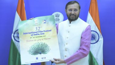 International Film Festival of India 2021: Prakash Javadekar Releases Poster for the 52nd Edition of IFFI, To Be Held in Goa From November 20–28