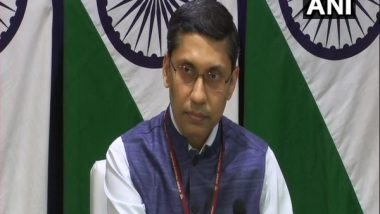 India Closely Monitoring Security Situation in Afghanistan, Says MEA After Evacuation of Staff from Kandahar