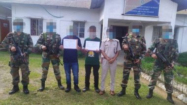 India News | 2 Active NSNC Cadres Surrender to Assam Rifles in Arunachal's Longding