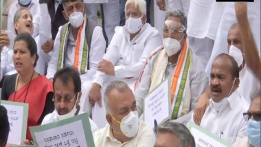 India News | Congress Organises Protest Marches, Seeks SC-monitored Probe into Surveillance Allegations