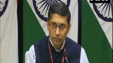 World News | India Supports Afghan Govt, People's Aspiration of Peaceful, Democratic Future: MEA