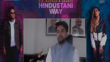 Tokyo Olympics 2020: Sports Minister Anurag Thakur Launches Official Team India Cheer Song 'Hindustani Way'