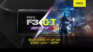 Poco F3 GT Smartphone Launching Tomorrow in India; Expected Prices, Features & Specifications