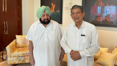 Punjab Congress Feud: Any Decision by Party President Acceptable to All, Says Amarinder Singh After Meeting Harish Rawat