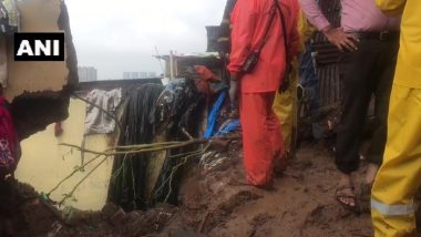 Mumbai Building Collapse: 3 Killed After Building Collapses in Vikroli Due to Heavy Rains