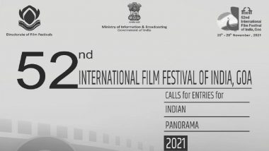 International Film Festival of India 2021: Indian Panorama Calls for Entries for the 52nd Edition of IFFI