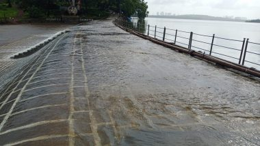 Mumbai Rains: Vihar Lake, the Key Source of Supply of Drinking Water to Residents, Starts Overflowing Due to Heavy Rainfall