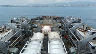 Indian Naval Ship Airawat Carrying 300 Oxygen Concentrators, Liquid Medical Oxygen Delayed in Reaching Indonesia