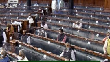 India News | Monsoon Session: Lok Sabha Adjourned Till 2 Pm