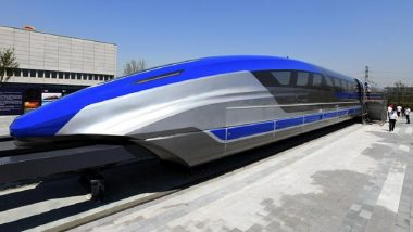 Maglev Train That Can Run at Speed of 600 Kilometres Per Hour Unveiled in China, Here's Everything About the World's 'Fastest Ground Vehicle'