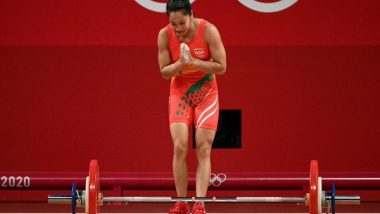 Tokyo Olympics 2020: PM Narendra Modi Speaks to Weightlifter Mirabai Chanu, Congratulates Her on Winning the Silver Medal