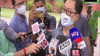 India News   Rijiju Lauds Chanu, Says Winning Medal on First Day of Olympics Very Special