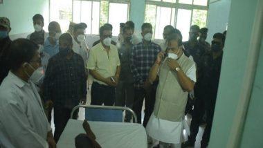 Assam-Mizoram Border Violence: CM Himanta Biswa Sarma Visits Silchar Hospital to Meet Police Personnel Injured in Border Clash