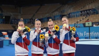 Sports News   Tokyo Olympics: ROC Breaks US Dominance, Clinches Team Gold in Artistic Gymnastics