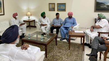 Punjab CM Captain Amarinder Singh Tells Navjot Singh Sidhu 'All Issues in Advances Stages of Resolution' on Concerns Raised by State Congress