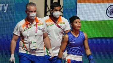 Mary Kom Surprised After Being Asked To Change Jersey Minute Before Bout Against Ingrit Valencia at Tokyo Olympics 2020