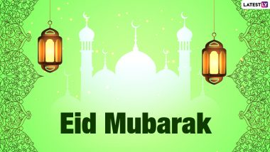 Eid Mubarak 2021 Images for Eid al-Adha Celebrations: Wish Happy Bakrid With WhatsApp Messages, Greetings, Quotes, Shayari, Status and SMS for Loved Ones