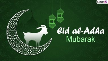 Bakrid 2021 Images & Eid al-Adha Mubarak HD Wallpapers for Free Download Online: Wish Happy Bakra Eid With WhatsApp Messages, SMS and Quotes to Family and Friends