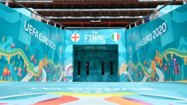 How To Watch England vs Italy, Euro 2020 Live Streaming Online On SonyLiv: Free Telecast of European Championship Final Match on Sony Sports TV Channel in India