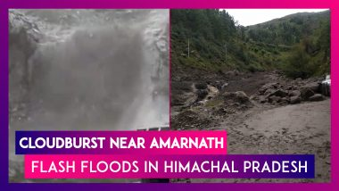 Cloudburst Near Amarnath; Intense Rains Cause Flash Floods In Himachal Pradesh