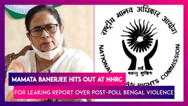 Mamata Banerjee Lashes Out At NHRC Report Leak Over Post-Poll Violence In West Bengal