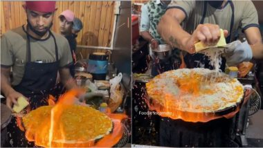 'Fire Dosa' From Indore Is Not Your Regular Indian Street Food, Check Video To Enjoy 'Aag Laga Diya' Moment