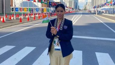 Mary Kom at Tokyo Olympics 2020, Boxing Live Streaming Online: Know TV Channel & Telecast Details for Women's 51kg Prelims Round of 32 Qualification Coverage