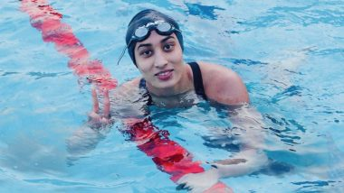 Maana Patel at Tokyo Olympics 2020, Swimming Live Streaming Online: Know TV Channel & Telecast Details for Women's 100m Backstroke Heat 1 Qualification Coverage