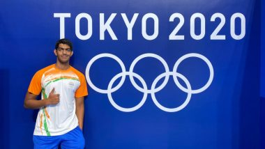 Srihari Nataraj at Tokyo Olympics 2020, Swimming Live Streaming Online: Know TV Channel & Telecast Details for Men's 100m Backstroke Heat 3 Qualification Coverage