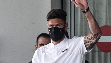 Olivier Giroud Undergoing AC Milan Medical Ahead of Transfer From Chelsea, Check Post